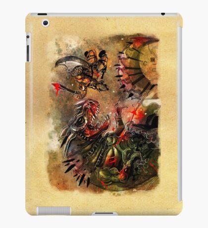 Manstodon versus the Swamp Tyrant iPad Case/Skin