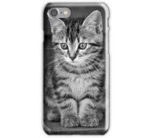 Tabby kitten iPhone Case/Skin