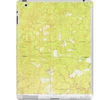 USGS TOPO Map Alabama AL Grayson 304032 1960 24000 iPad Case/Skin