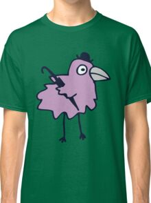 Business Bird - Lilac on Mint green Classic T-Shirt