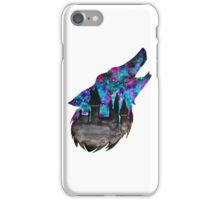 Double Exposure Harry Potter Werewolf Hogwarts Silhouette iPhone Case/Skin