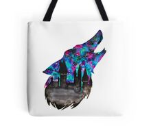 Double Exposure Harry Potter Werewolf Hogwarts Silhouette Tote Bag
