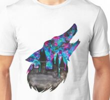 Double Exposure Harry Potter Werewolf Hogwarts Silhouette Unisex T-Shirt