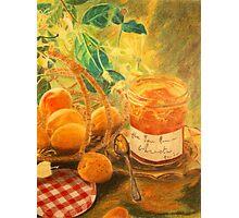 Apricot break Photographic Print