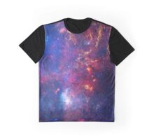 Galactic Center: NASA's Great Observatories Examine the Galactic Center Region Graphic T-Shirt