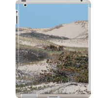 Sand dunes in the spring iPad Case/Skin