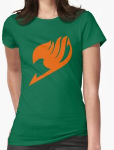 Fairy Tail Logo Womens Fitted T-Shirt