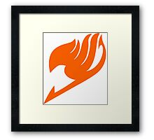Fairy Tail Logo Framed Print