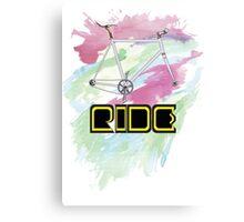 Ride Canvas Print
