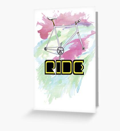Ride Greeting Card