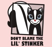 DON'T BLAME THE LIL' STINKER Kids Tee