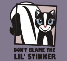 DON'T BLAME THE LIL' STINKER Kids Tee