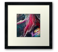 Sq2 Abstract Modern Painting Framed Print