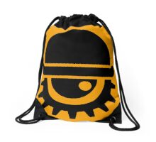 Clockwork Orange Drawstring Bag
