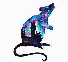 Double Exposure Harry Potter Rat Hogwarts Silhoutette Unisex T-Shirt