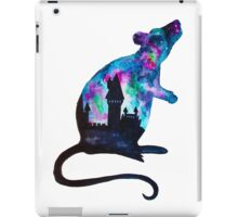 Double Exposure Harry Potter Rat Hogwarts Silhoutette iPad Case/Skin