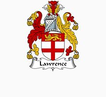 Lawrence Coat of Arms / Lawrence Family Crest Unisex T-Shirt