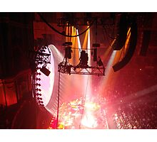 Manning the spotlights - Royal Albert Hall Sunday 24th April 2016 Photographic Print