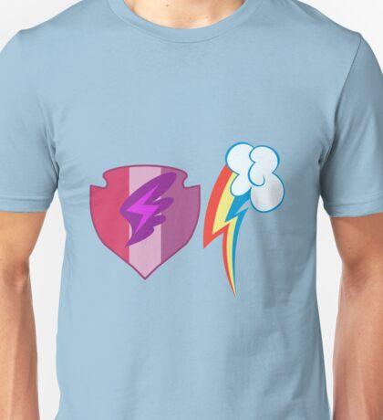 My little Pony - Scootaloo + Rainbow Dash Cutie Mark Unisex T-Shirt