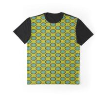 yellow turquoise pattern Graphic T-Shirt