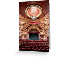 Liverpool Empire Theatre Greeting Card
