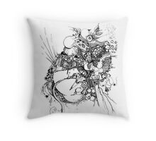 This Test Isn't - Pen Illustration Throw Pillow