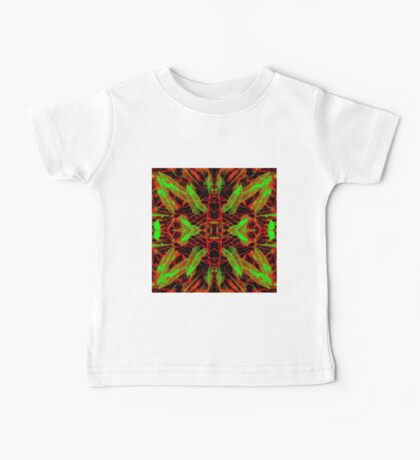 Croton Collection - Red, Green, Black Baby Tee