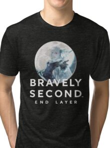 Magnolia - Bravely Second (with logo) Tri-blend T-Shirt