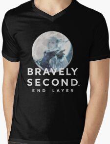 Magnolia - Bravely Second (with logo) Mens V-Neck T-Shirt