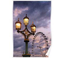 Westminster Bridge, London Poster