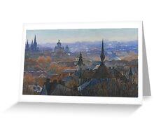 Panoramic view of Lviv Greeting Card