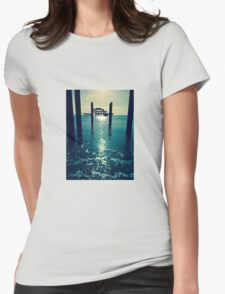 Waters Edge At West Pier Womens Fitted T-Shirt