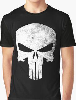 Punisher Grunge Graphic T-Shirt