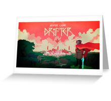 Hyper Light Drifter - Poster - The City Greeting Card
