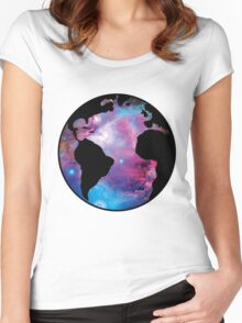 Earth Nebula (orion) Women's Fitted Scoop T-Shirt