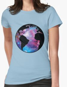 Earth Nebula (orion) Womens Fitted T-Shirt