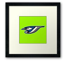 blue jays Framed Print