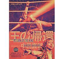 "Shinsuke Nakamura -- ""Return of the King""  Photographic Print"