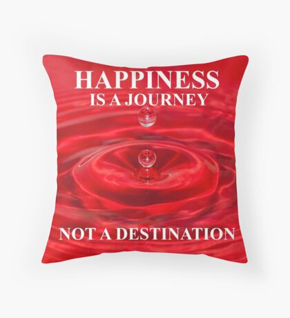 Happiness..... Throw Pillow