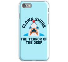 Clown Shark - Terror of the Deep iPhone Case/Skin