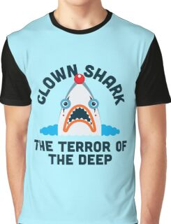Clown Shark - Terror of the Deep Graphic T-Shirt
