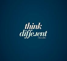 Think Different by soniaardelia