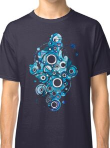 Medium Hadron Collider - Watercolor Painting Classic T-Shirt