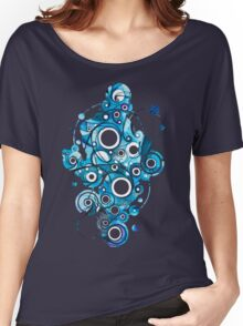 Medium Hadron Collider - Watercolor Painting Women's Relaxed Fit T-Shirt