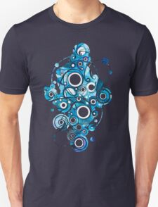Medium Hadron Collider - Watercolor Painting Unisex T-Shirt