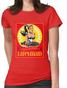 Latex-Maid - Color Womens Fitted T-Shirt