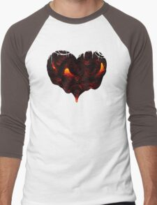 I Lava You With All My Heart Men's Baseball ¾ T-Shirt