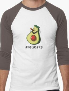 Avocastro Men's Baseball ¾ T-Shirt
