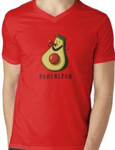 Avocastro Mens V-Neck T-Shirt