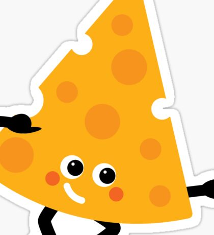 Character Fusion - Just Cheese Sticker